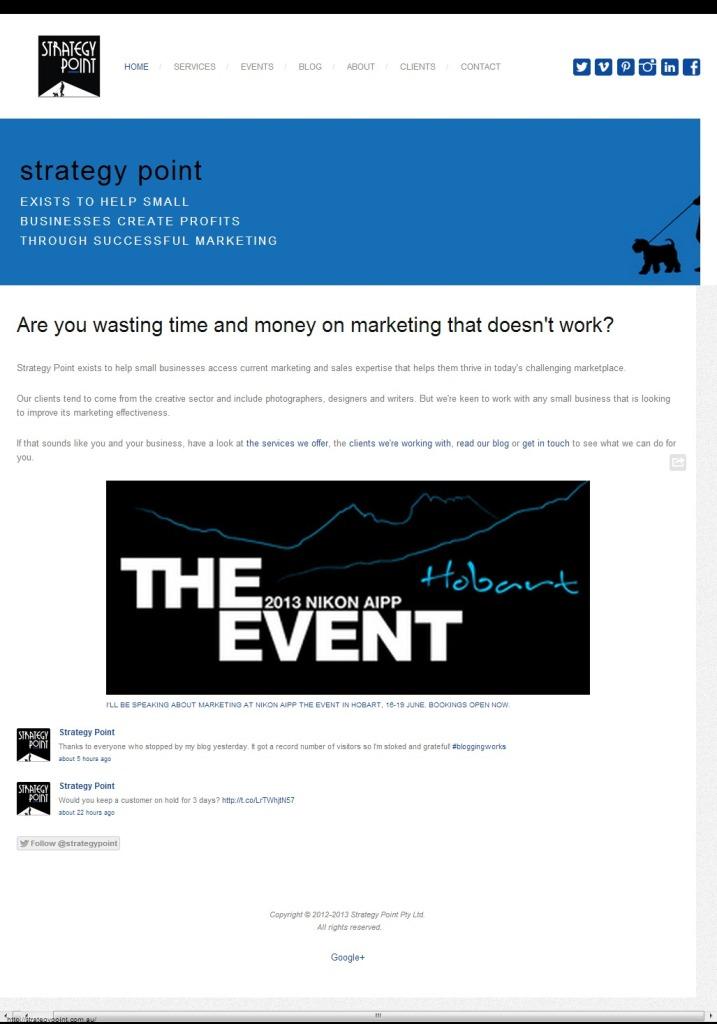 Strategy Point screenshot